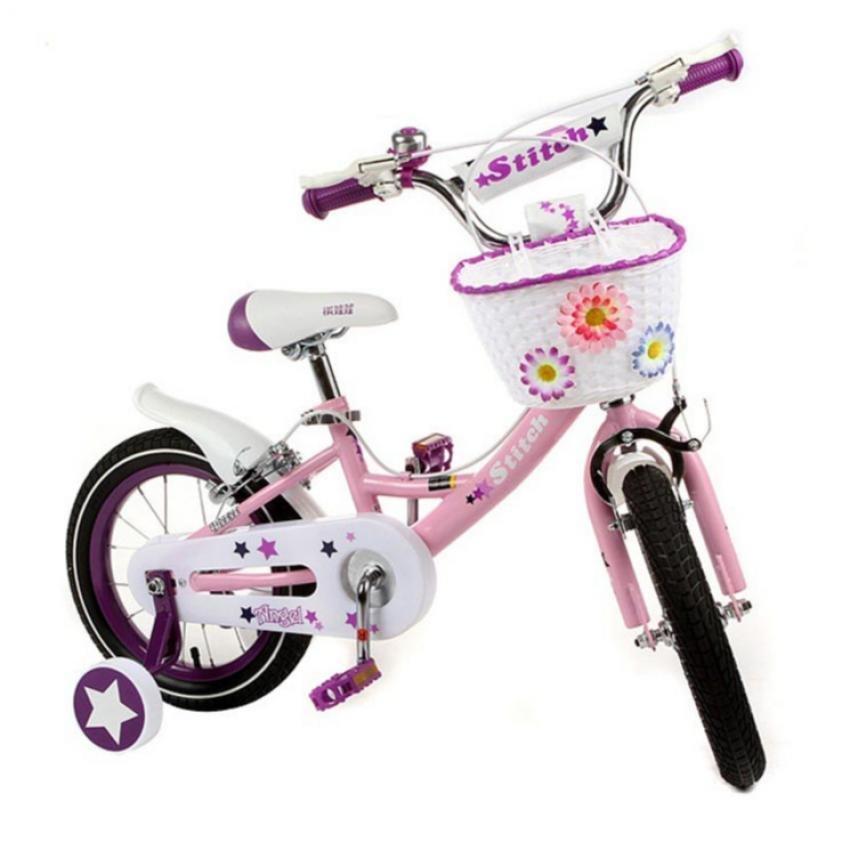 Xe đạp thể thao trẻ em Stitch JY 909 12 Inch