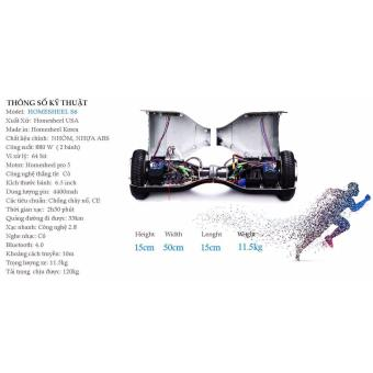Xe điện cân bằng Homesheel S6 - Bảo hành 2 năm