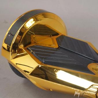 Xe điện cân bằng tự cân bằng 8 inch có Bluetooth vàng Chrome