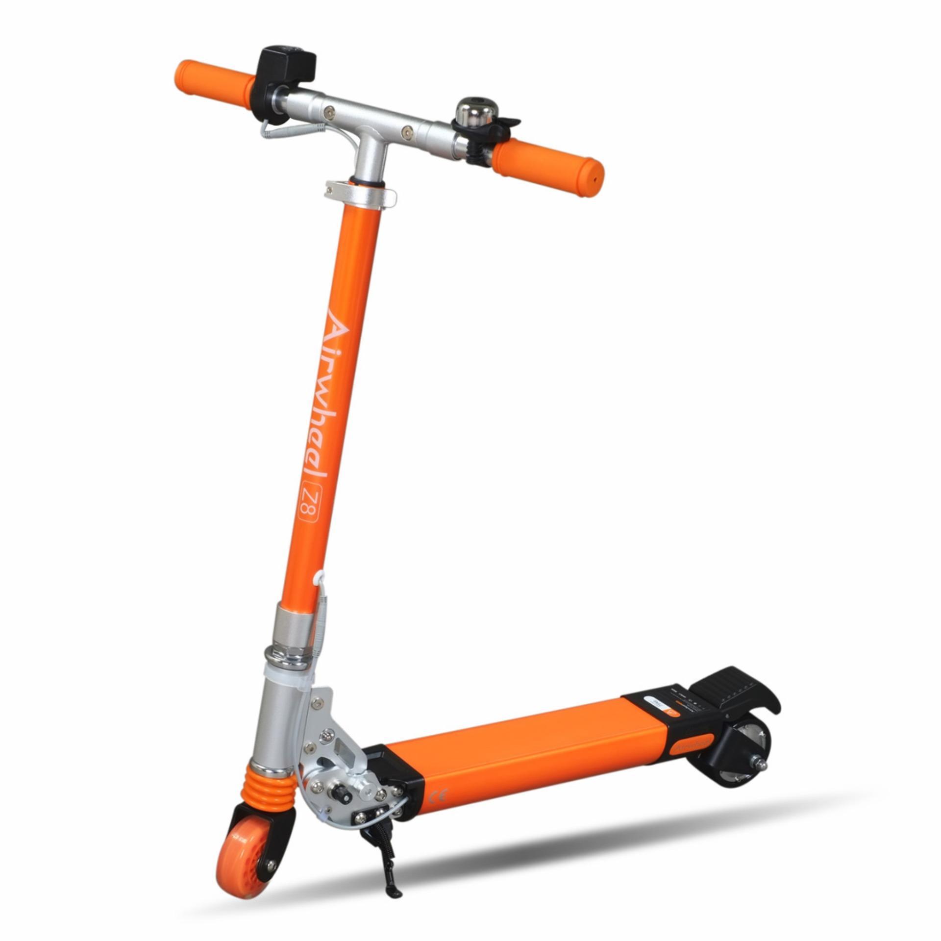 Xe scooter điện gấp siêu nhẹ Airwheel Z8 (cam)