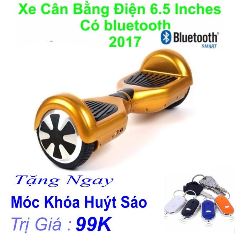 Xe Tự cân bằng điện 6.5 inches Có bluetooth 2017(Vàng) Tặng Ngay Móc Khoá Huýt Sáo Trị Giá 99k