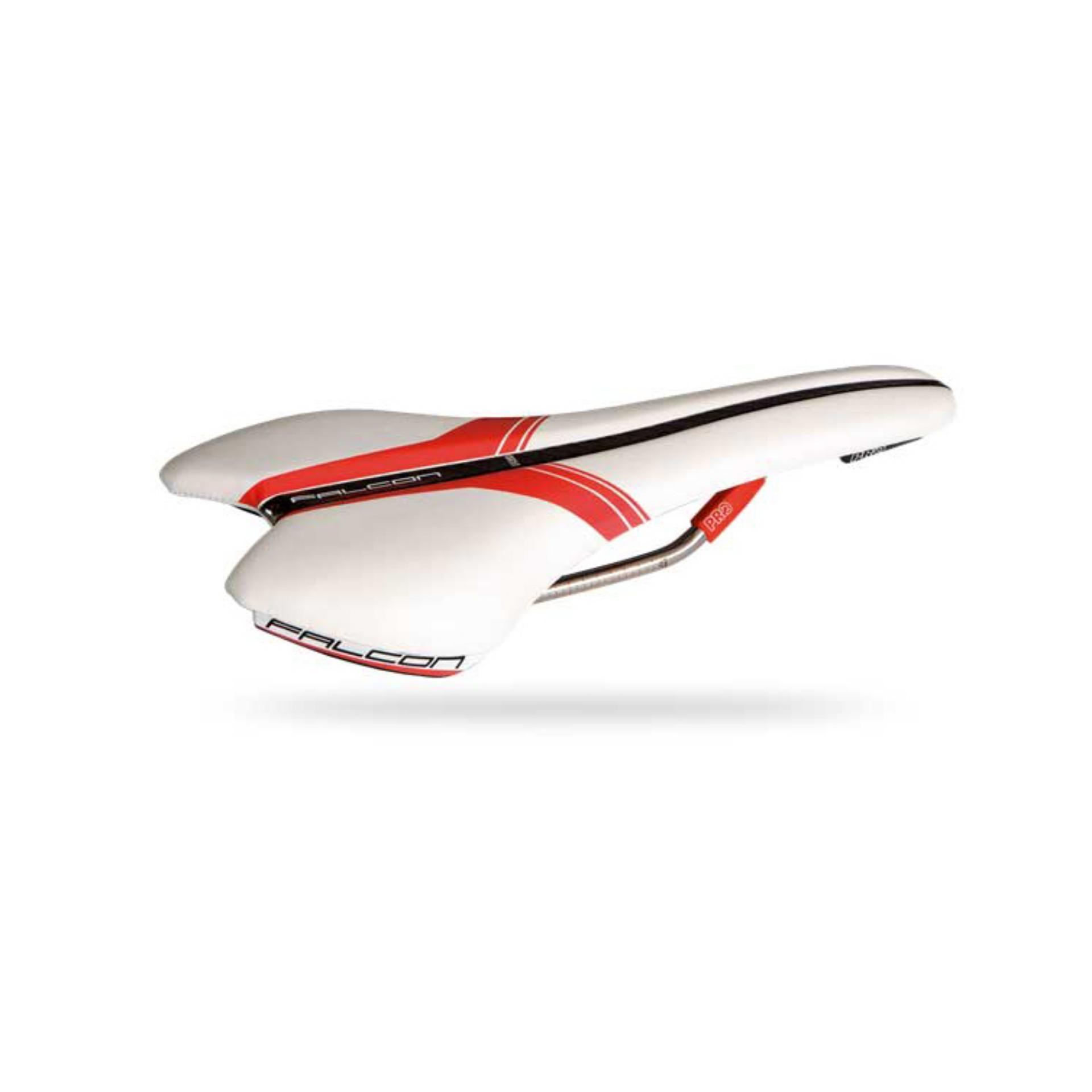 Yên xe đạp Shimano Pro Falcon TI (trắng)