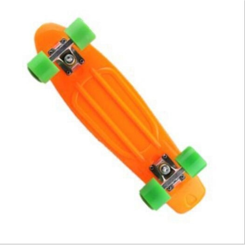 ZH22 inch fish plate are single - Four Wheel Scooter Skate Scooter(orange) - intl
