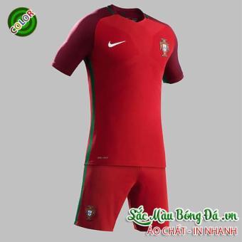 Áo bóng đá đội tuyển Bồ Đào Nha EURO 2016 Màu Đỏ