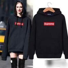 Áo hoodie nữ suprerme logo thêu