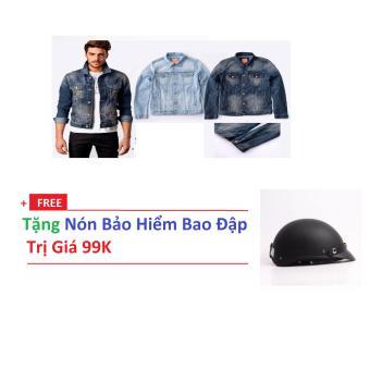 Áo Khoác Nam PGK0057 Tặng Nón Bảo Hiểm - Hàng VNXK