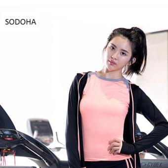Áo Thể Thao Nữ Đa Năng Mẫu Mới Hot Sodoha SV56B68-pink