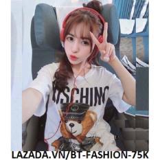 Áo Thun Kiểu Nữ In 3D Thời Trang Hàn Quốc Mới- BT Fashion AT001H (Moch)