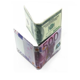 Bộ 2 ví tiền 100 USD + 500 EURO