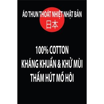 Bộ 3 áo thun nam trơn, áo phông nam Thoát Nhiệt Nhật Bản (Đen, Trắng, Xám tiêu) - 4