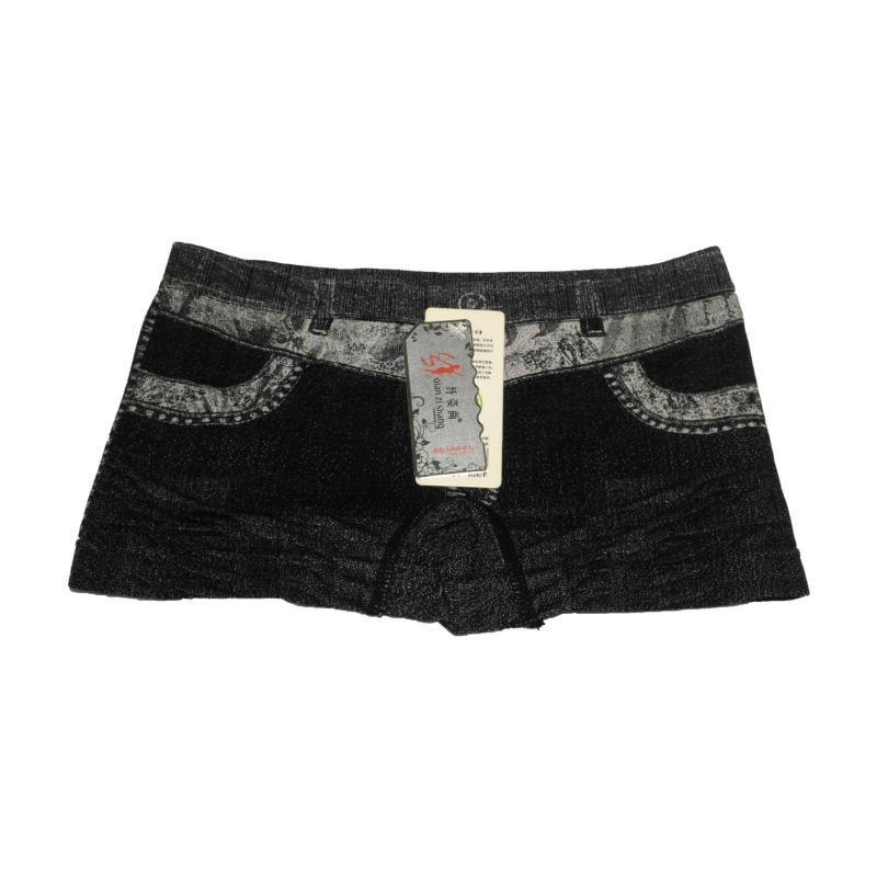 Nơi bán Bộ 3 quần lót bé gái họa tiết giả Jean (Màu Đen)