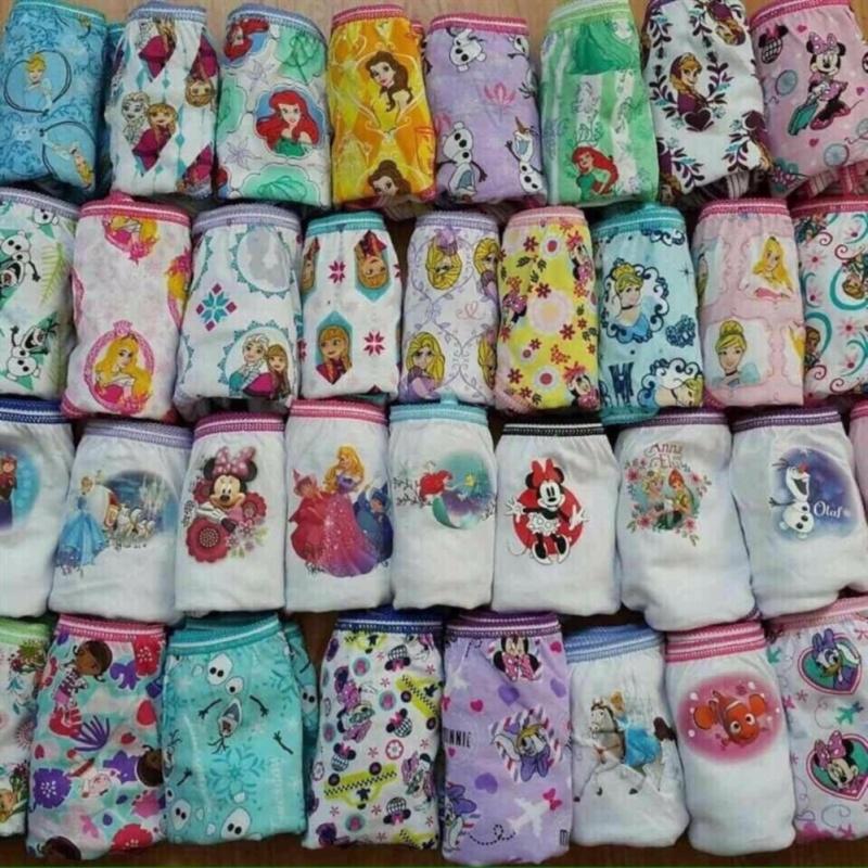 Nơi bán Bộ 3 quần lót xuất khẩu cao cấp cho bé gái sz2-4 tuổi