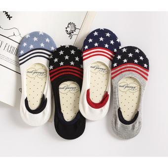 Bộ 4 đôi tất vớ lười nữ Nhật Bản MS03