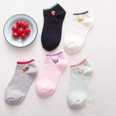 So Sánh Giá Bộ 5 đôi vớ (tất) ngắn phong cách Hàn Quốc Phụ Kiện 68 (đủ màu)