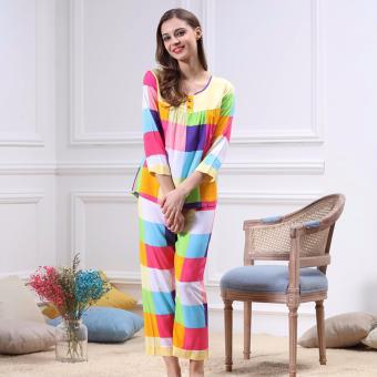 Bộ đồ mặc nhà phối nhiều màu xinh xắn ZOZO Yaoting BD 6310 - 3