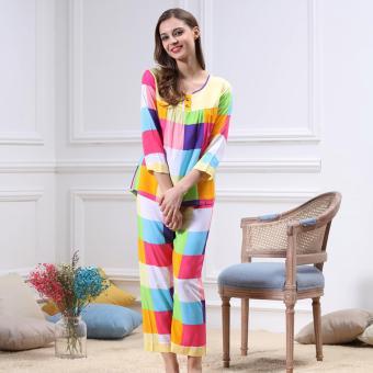 Bộ đồ mặc nhà phối nhiều màu xinh xắn ZOZO Yaoting BD 6310 - 4