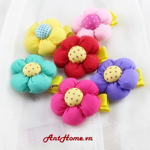 Bộ Kẹp Hoa Handmade Kh81 (Xanh Lá)