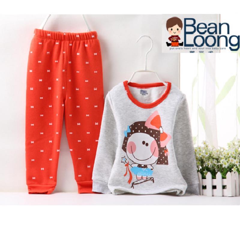 Nơi bán Bộ quần áo nỉ  lót lông cao cấp giữ nhiệt cho bé cao từ 80cm -120cm