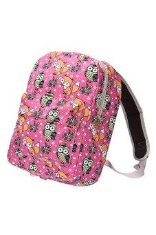 Canvas Owl Rucksack Backpack School Book (Hot Pink) - Intl - intl - 10298827 , OE680FAAA6V91FVNAMZ-12608473 , 224_OE680FAAA6V91FVNAMZ-12608473 , 568500 , Canvas-Owl-Rucksack-Backpack-School-Book-Hot-Pink-Intl-intl-224_OE680FAAA6V91FVNAMZ-12608473 , lazada.vn , Canvas Owl Rucksack Backpack School Book (Hot Pink) - Int