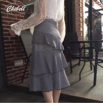 CH768FAAA7RXGDVNAMZ-14666473 - Chân Váy nữ - Váy tầng lá sen(Xám)- cung cấp bởi Chibell.