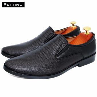 Combo Giày Tây Tặng Tất - Pettino GL-07 (đen) - 2