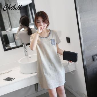 CH768FAAA6Y0ILVNAMZ-12746199 - Đầm nữ - đầm suông dạo phố - Dam-suong-dao-pho (xám) cung cấp bởi Chibell