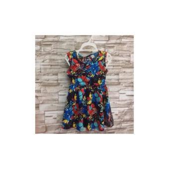 Đầm Xòe Tole Hoa - Dg033
