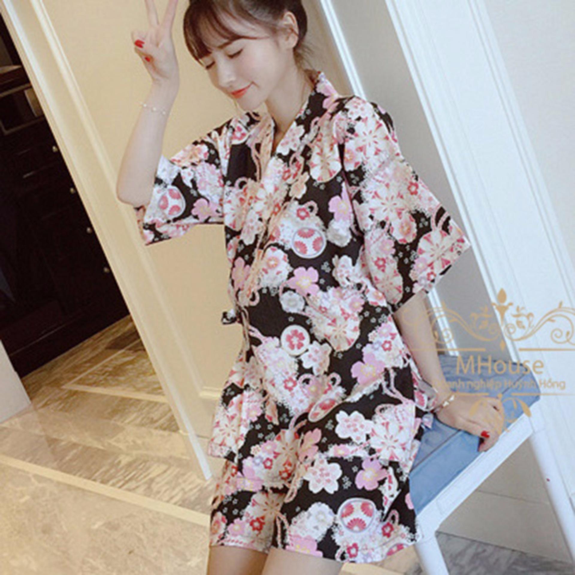 Chỗ bán Đồ bộ Kimono phong cách kiểu Nhật