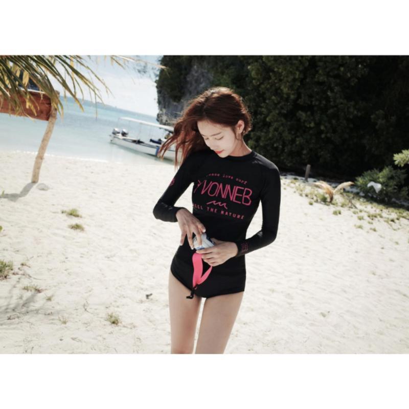Nơi bán Đố bơi tay dài giá rẻ màu đen - BG1001