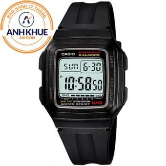 Đồng hồ điện tử huyền thoại Casio dây nhựa DM430 (Đen) ...