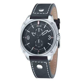 Đồng hồ nam dây da dê thật AVI-8 AV-4010-02 (Đen)