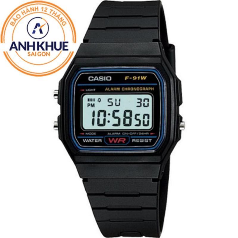 Nơi bán Đồng hồ nam dây nhựa Casio DM431 (Đen)