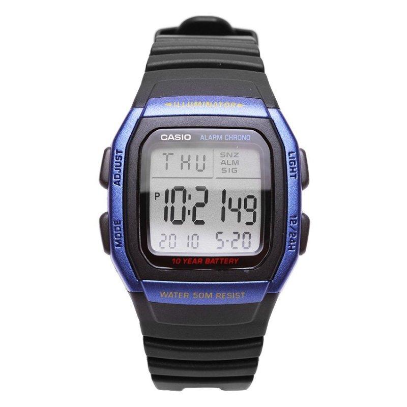 Nơi bán Đồng hồ nam dây nhựa Casio W-96H-2AVDF (Đen)