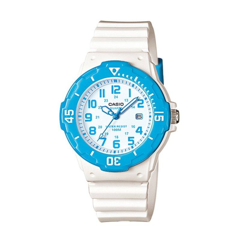 Nơi bán Đồng hồ nữ dây nhựa Casio LRW-200H-2BVDF (Trắng)