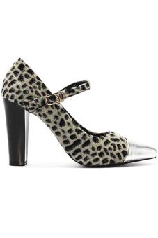 Giày cao gót nữ Senta U235 (Beo bạc)