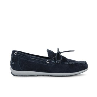 Giày Lười Da Geox U ASCANIO A (Xanh Navy)