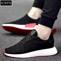 Giày sneaker nam NewNMD1 - HAPU (tùy chọn: đen vạch đỏ hoặc trắng)