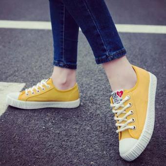 Giày sneaker nữ 81 Fashion - TiLaMi (vàng đẹp) - 2