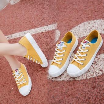 Giày sneaker nữ 81 Fashion - TiLaMi (vàng đẹp) - 4