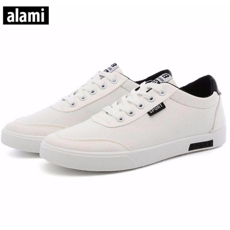 Giày Sneakers Thời Trang Nam Alami - GTT112 (Đen Xanh)