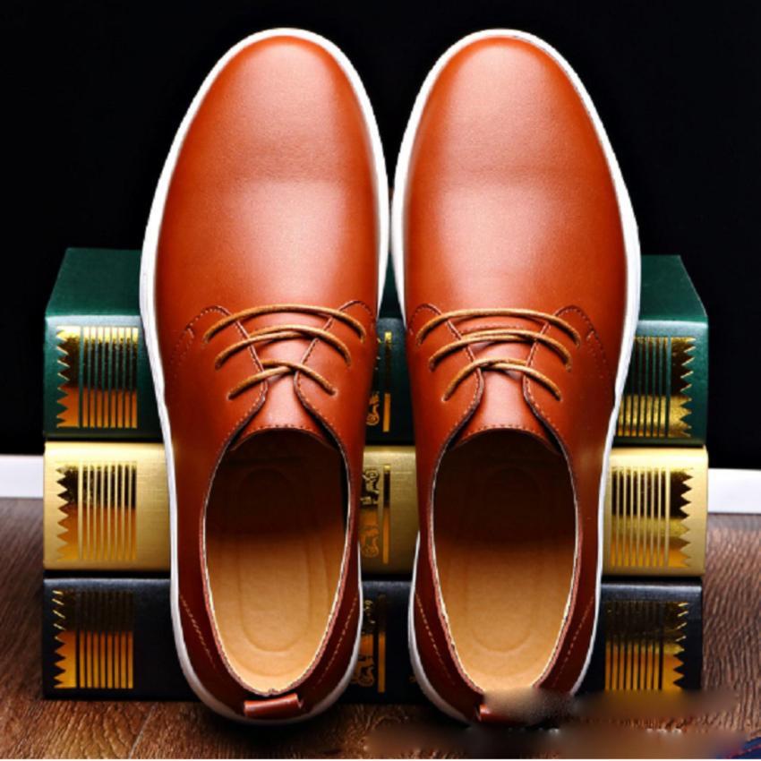 Giày Tây Cao Cấp - Pettino GD18 (nâu)
