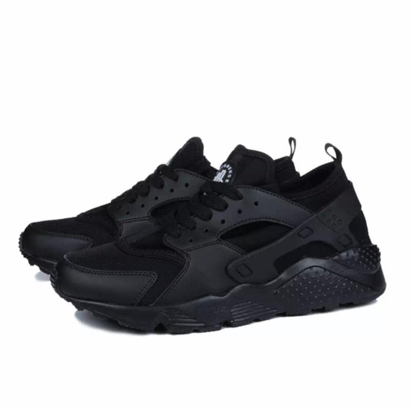 Giày thể thao nam nữ đa năng, đế êm, chất thoáng khí TILAMI (full đen)