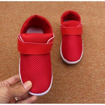 Giày thể thao siêu nhẹ cho bé - Size 21 đến 30- chữ Z2 trơn - đỏ