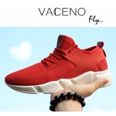 Giày Thời Trang Nam Cao Cấp Vaceno - VCN13 ( Đỏ )