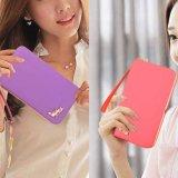 Khuyến mãi High Quality Store New Korean Style Fashion Women Leather Walletlong Handbag Clutch Box Bag Phone Card Holder Purse Green - intl giá sốc - Giá ...