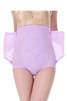 Giá Niêm Yết High Waist Shapewear Tummy Control Abdomen Underwear (Purple) – intl  Fashion Deal