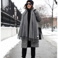 Khăn choàng len ACNE dày dặn. Kích thước khăn 70*200cm