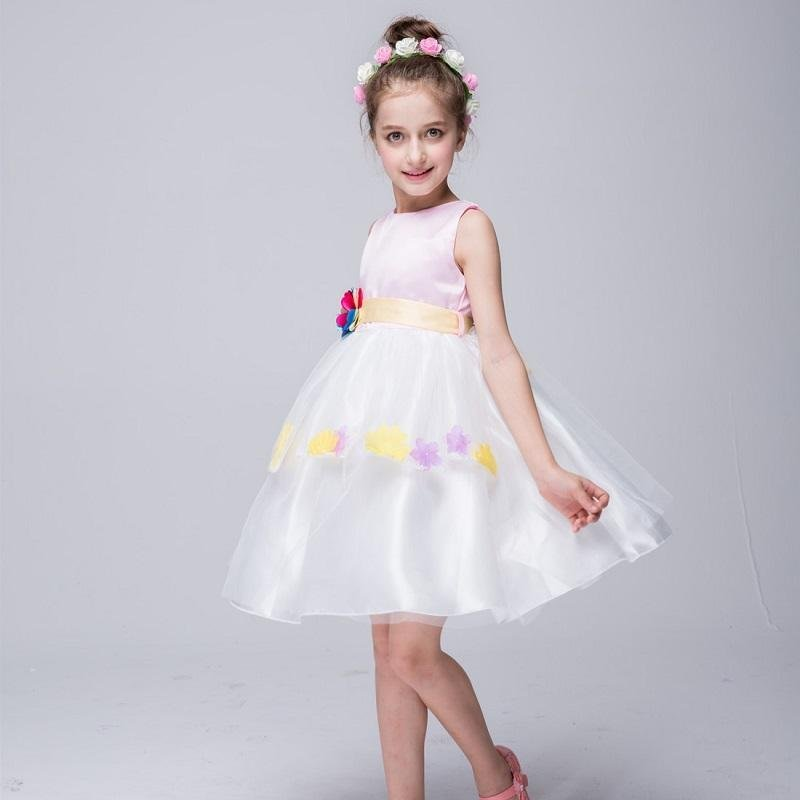 Giá bán Korean version of the new girl in the fall of the princess poncho skirt birthday school performance performance dress - intl