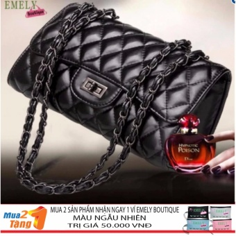 Luxury Bags For Women LX1 (Black) + Gift
