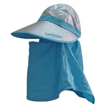 Mũ rộng vành khẩu trang vải phủ bạc Unisex LEADERSHIP 051-HB (Bạcviền Xanh)